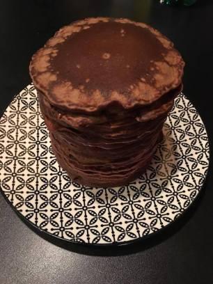 pancakes chocolat clémentine