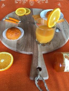 Recette orange abricot dômes facile
