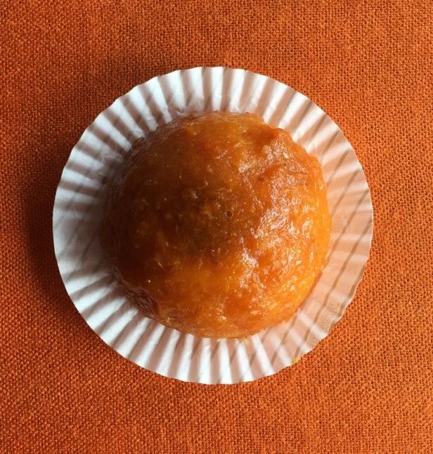 Dômes orange glaçage abricot