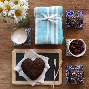 Deco table printemps brownie chco