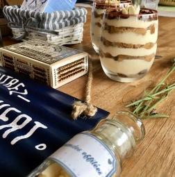 Tiramisu maison café amande