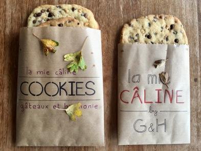 Diy papier recette cookies moelleux mi cuit