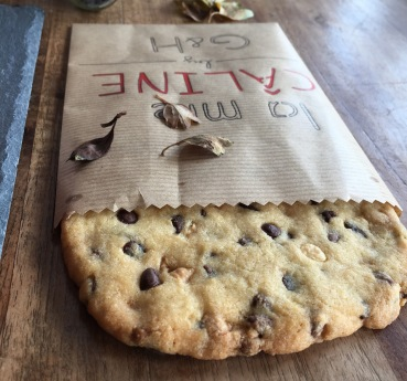 Diy pochette recette cookies